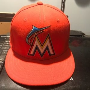 Miami Marlins Fitted Hat